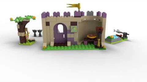 Lego Disney Princess 41051 Merida's Highland Games Lego 3D Review