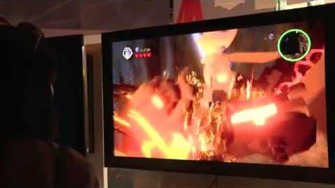 Lego Lord of the Rings Gandalf Gameplay E3 2012