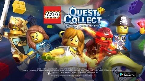 Official LEGO QUEST & COLLECT (by Nexon) Trailer (KR) (iOS Android)
