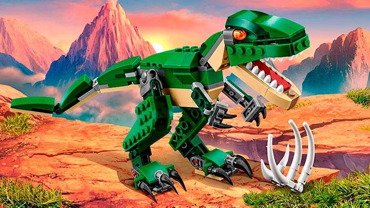 31058 Le dinosaure féroce