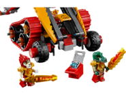70144 Le tank Lion de feu 4