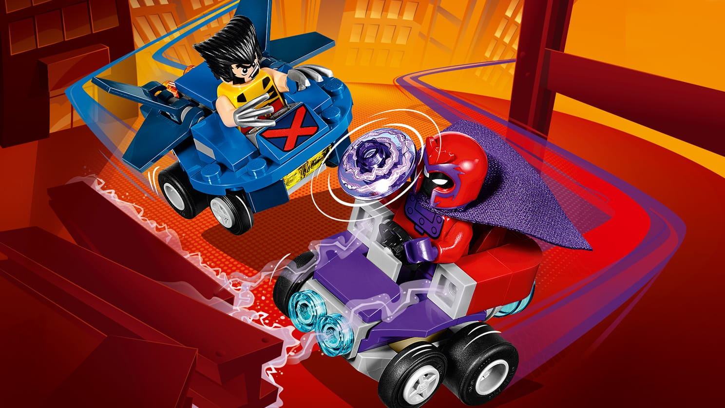76073 Mighty Micros : Wolverine contre Magneto