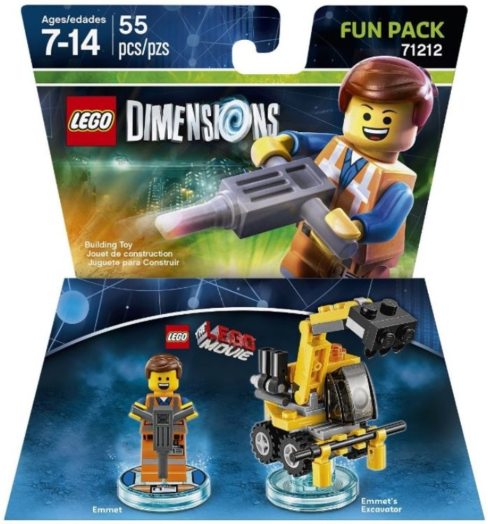 71212 LEGO Movie Emmet Fun Pack