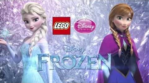 LEGO Disney Princess Sparkling Ice Castle TVC