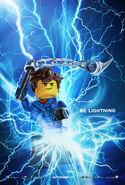 The LEGO Ninjago Movie Poster Jay