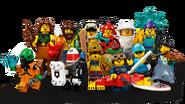 71029 Minifigures Série 21