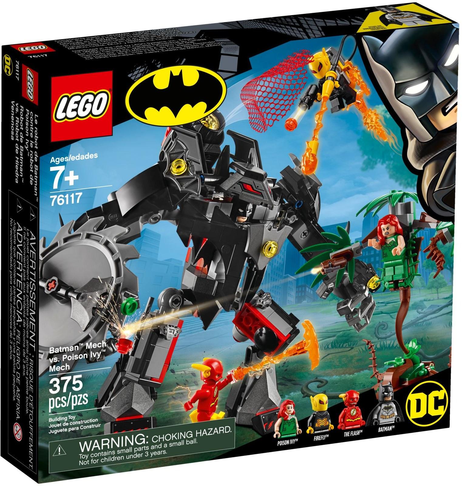 76117 Batman Mech vs. Poison Ivy Mech