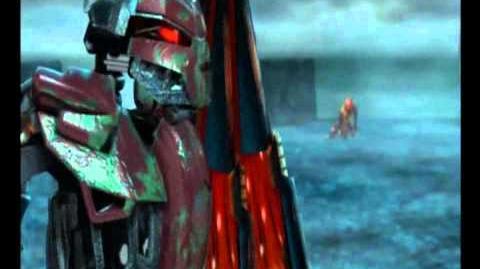 Bionicle Vakama VS Makuta