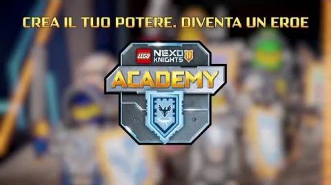 LEGO® NEXO KNIGHTS™ - L'ACCADEMIA dei CAVALIERI - Italiano - 2016