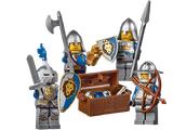 850888 Ensemble d'accessoires de chevaliers Castle
