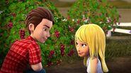 Martin et Stéphanie raisins-Filles de la campagne