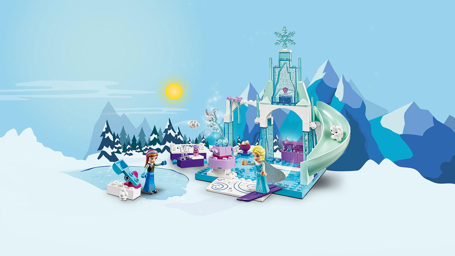 10736 L'aire de jeu d'Anna et Elsa