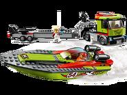 60254 Le transport du bateau de course 2