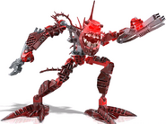Hakann in bionicle heroes