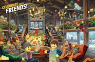 Lego club magazine nov dec 2016 pull out poster