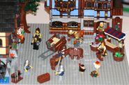 Mittelalterlicher Marktplatz 10193