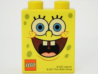 4066pb403 Promotional SpongeBob Duplo Brick