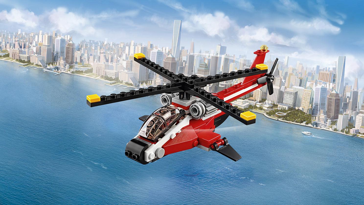 31057 L'hélicoptère rouge