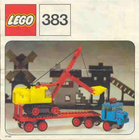 383 Truck with Excavator