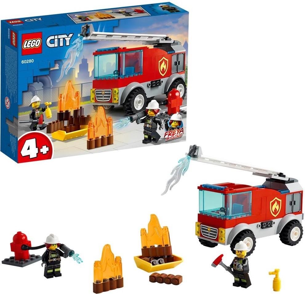 60280 Fire Ladder Truck