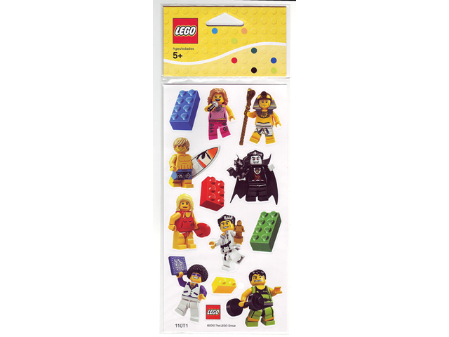 853216 Classic Minifigure Sticker Set