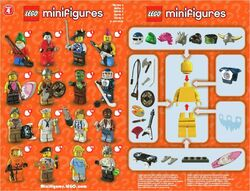 4 X 1 LEGS FOR THE LAWN GNOME  FROM SERIES 4 PARTS LEGO-MINIFIGURES SERIES