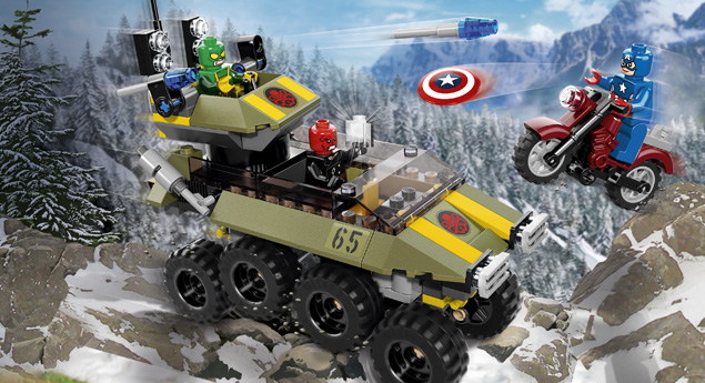 76017 Captain America contre Hydra