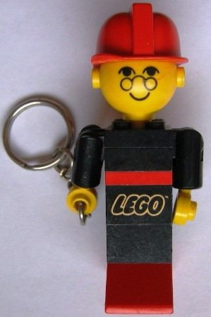 KC17 Fireman Maxifig Key Chain