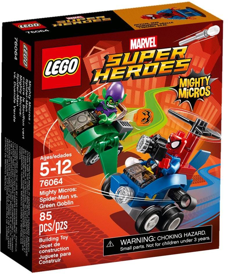 76064 Mighty Micros: Spider-Man vs. Green Goblin
