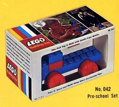042 Jumbo Brick Pull Toy