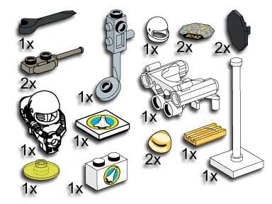 5313 Spaceport Accessories