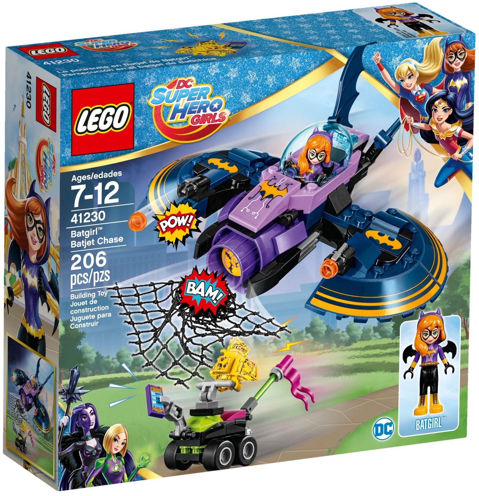 41230 Batgirl Batjet Chase