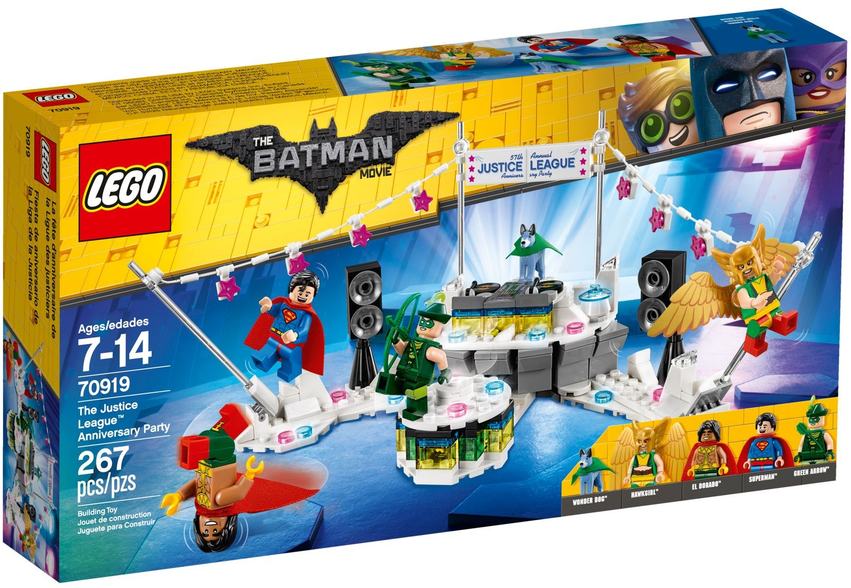 70919 The Justice League Anniversary Party