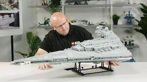 Imperial Star Destroyer Designer Video LEGO Star Wars 75252