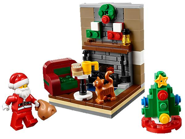 40125 La visite du Père Noël