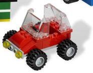 Red Mini Jeep