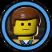 TLM Jeton 003-Emmet (Pièce LEGO)