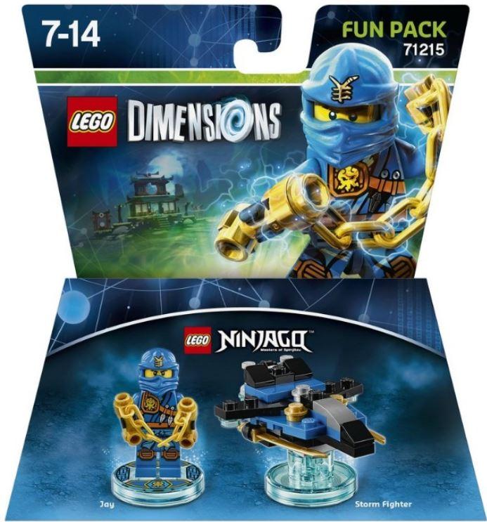 71215 Ninjago Jay Fun Pack