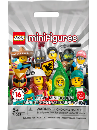 71027 Minifigures Série 20