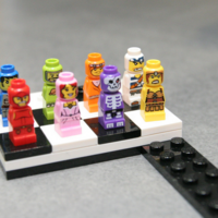 Lego 4 x HEROICA KING Microfigure New King NEW Lot of 4 parts Basics
