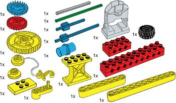 970680 Special Elements for Early Simple Machines Set