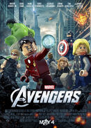 The Avengers Lego Poster-2