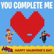 The LEGO Movie Saint Valentin 3