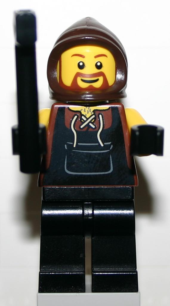Lego Ritter 1 Schmied mit Hammer 2