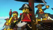 Capitaine Soto et équipage-Pirates contre ninjas