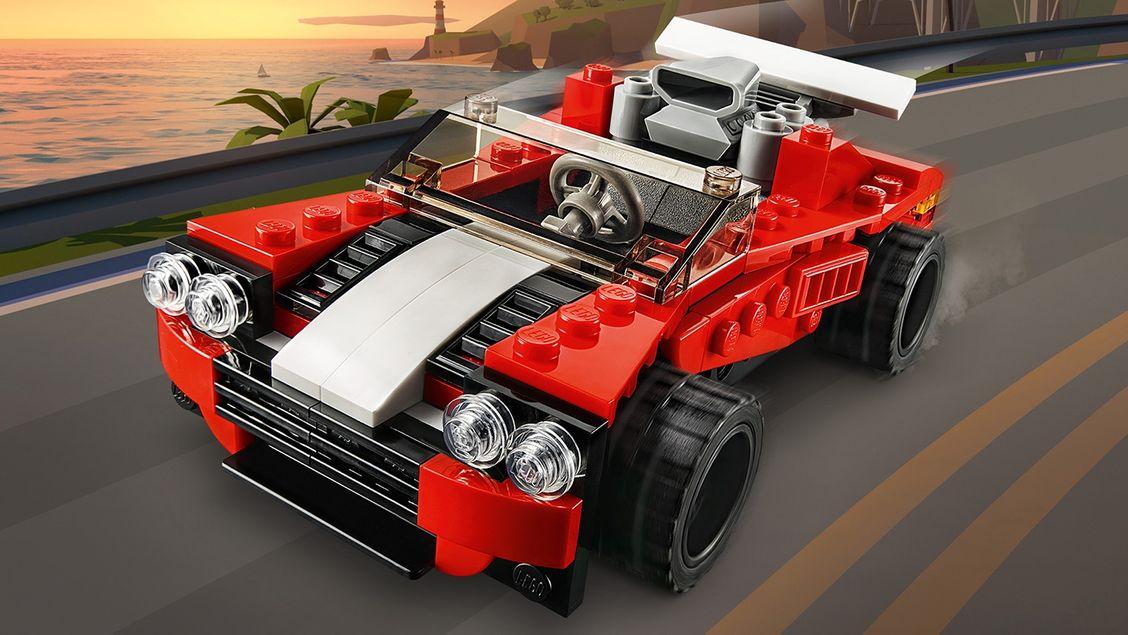 31100 La voiture de sport