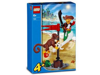 7081 Harry Hardtack and Monkey