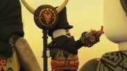 Iron Baron sent Hunters after the Ninja and Heavy Metal