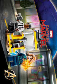 30453 Captain Marvel et Nick Fury