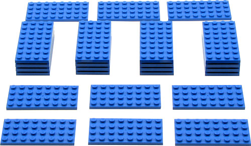 991221 Blue Plates Pack
